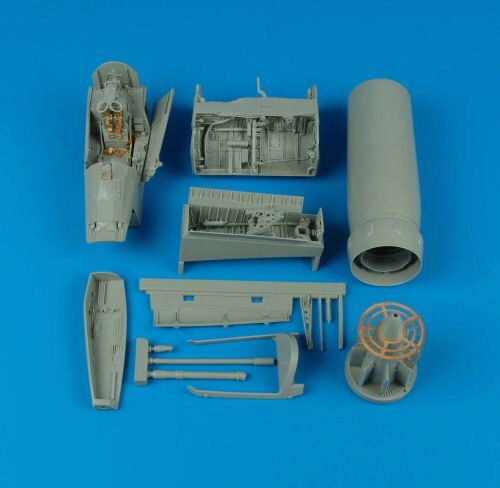Aires 2110 F-8E/H Crusader detail set for Trumpeter