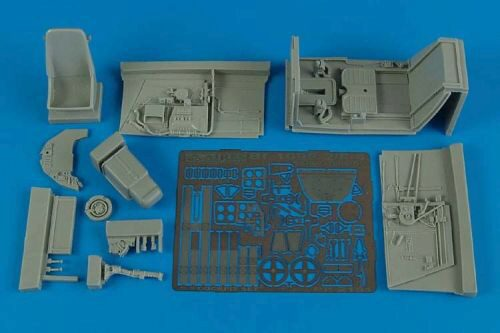Aires 2151 Bf 109F-2/F-4 early cockpit set (HAS)