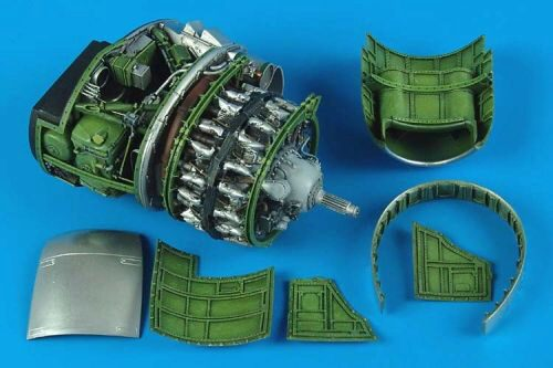 Aires 2167 P-47D Thunderbolt engine set