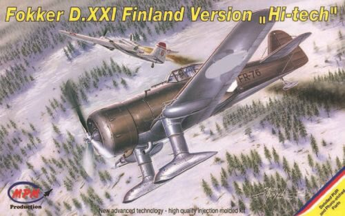 MPM 72526 Fokker D XXI Finland Version Hi-tech