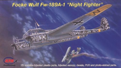MPM 72529 Focke Wulf Fw-189A-1 ''Night Fighter''