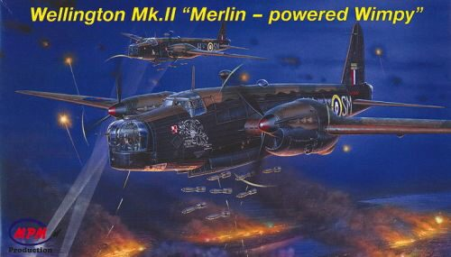 MPM 72535 Wellington Mk.II Merlins´powered Wimpy