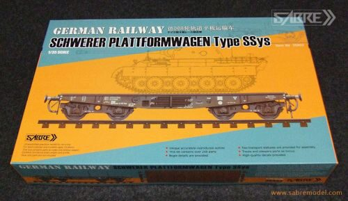 SABRE Model 35A02 German Railway Schwerer Plattformwagen Type SSys