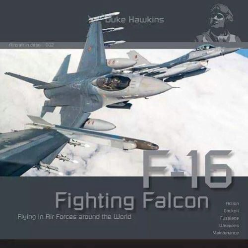 Historical Military Heritage ASBL 002 Duke Hawkins- F-16 Fighting Falcon Flying i in Air Forces around the World