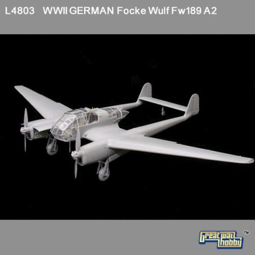 Lion Roar-GreatwallHobby L4803 WWII German Fw-189 A2