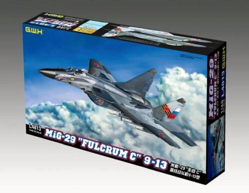 "Lion Roar-GreatwallHobby L4813 MIG-29 9-13 ""Fulcrum C"""