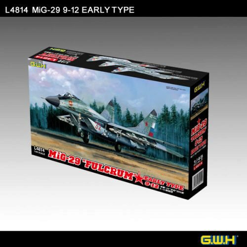 "Lion Roar-GreatwallHobby L4814 MIG-29 9-12 Early Type ""Fulcrum"""