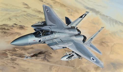 Lion Roar-GreatwallHobby L4815 F-15B/D Israeli Air Force&U.S.Air Force2