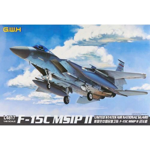 Lion Roar-GreatwallHobby L4817 F-15C MSIP II United States Air Nati.Gua
