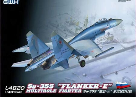 "Lion Roar-GreatwallHobby L4820 ""SU-35S""""Flanker E"""" Multirole Fighter """