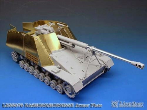 Lion Roar-GreatwallHobby LE35076 Armor Plate for Nashorn/ Hornisse SPG for DML