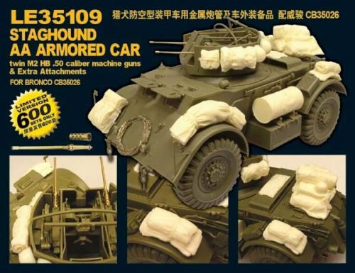 Lion Roar-GreatwallHobby LE35109 WWII U.S.Army Staghound AA Armored Car Limited Edition!