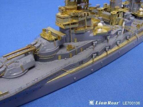 Lion Roar-GreatwallHobby LE700106 WWII IJN Battleship Nagato for Aoshima