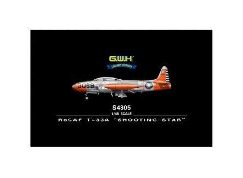 "Lion Roar-GreatwallHobby S4805 RoCAF T-33A ""Shooting Star"""