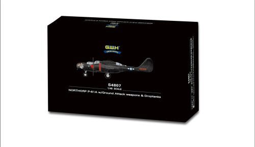 Lion Roar-GreatwallHobby S4807 NORTHORP P-61A w/Ground Attack weapons & Droptanks