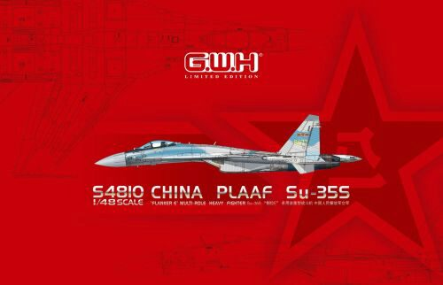 "Lion Roar-GreatwallHobby S4810 PLAAF Su-35S""Flanker E""Multirole Fighter Limited Edition"