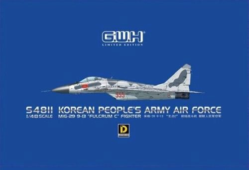 "Lion Roar-GreatwallHobby S4811 MiG-29 9-13""Fulcrum C"" Fighter Korean Peoples Army Air Force"