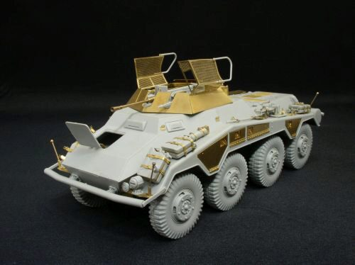 Lion Roar-GreatwallHobby LAS35004 German sd.kfz.234/1 for DML