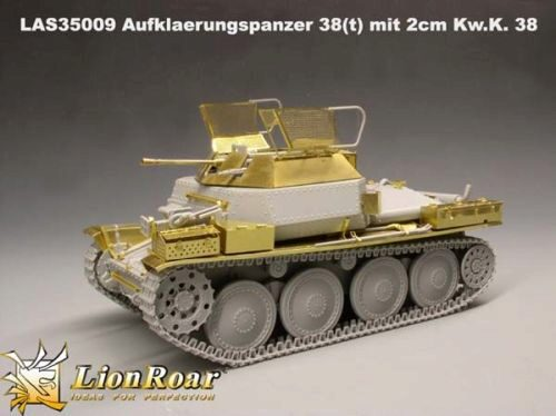 Lion Roar-GreatwallHobby LAS35009 German Aufklaerungspanzer 38( t ) mit 2cm Kw.K. 38 for DML