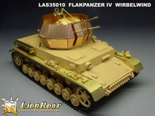 Lion Roar-GreatwallHobby LAS35010 German Flakpanzer IV Wirbelwind for Tamiya