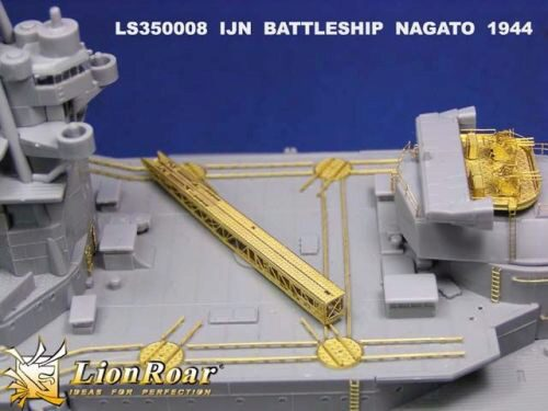 Lion Roar-GreatwallHobby LS350008 IJN Battleship Nagato, 1941 version and Leyte 1944 for Hasagawa
