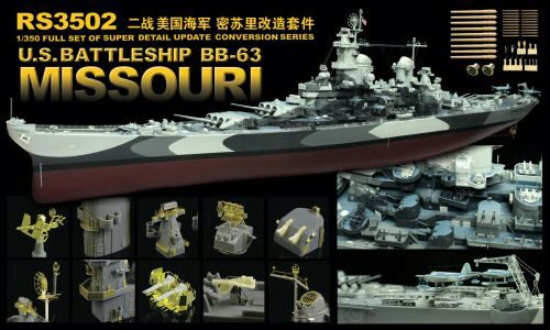 Lion Roar-GreatwallHobby RS3502 WWII US Navy Battleship BB-63 Missouri