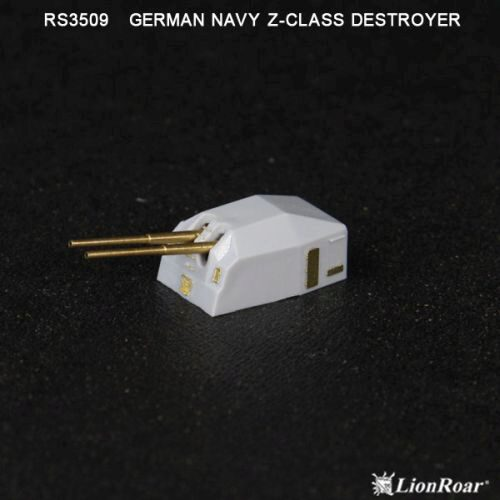 Lion Roar-GreatwallHobby RS3509 WWII German Navy Z-Class Destr.(DML/TRU)