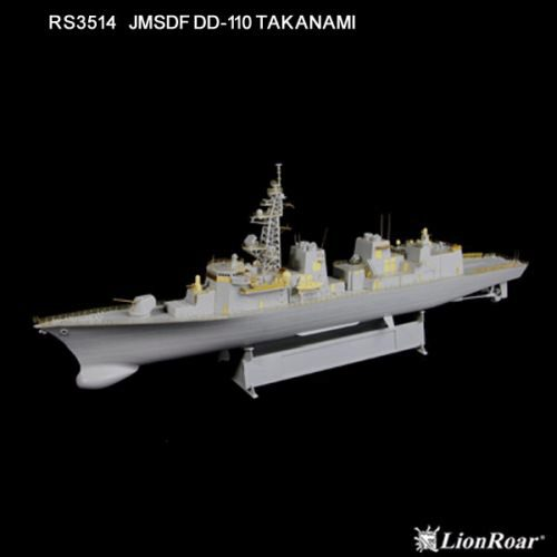 Lion Roar-GreatwallHobby RS3514 JMSDF DD-110 Takanami for Pitroad/TRU