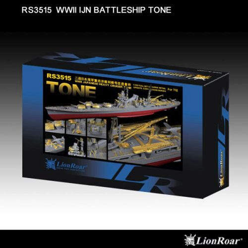 Lion Roar-GreatwallHobby RS3515 WWII IJN Heavy CruiserTone f.Tamiya78024