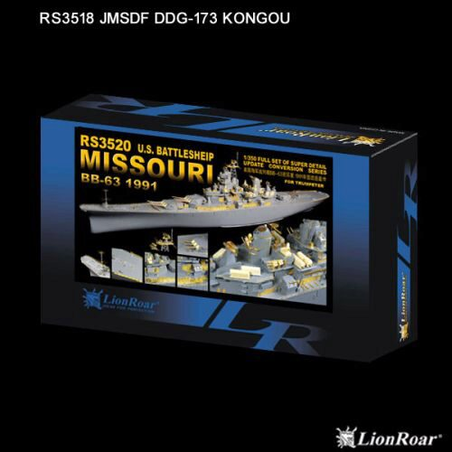 Lion Roar-GreatwallHobby RS3520 U.S.Navy Battelship BB-63 Missouri 1991