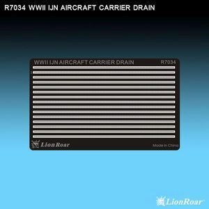 Lion Roar-GreatwallHobby R7034 WWII IJN Aircraft Carrier Drain
