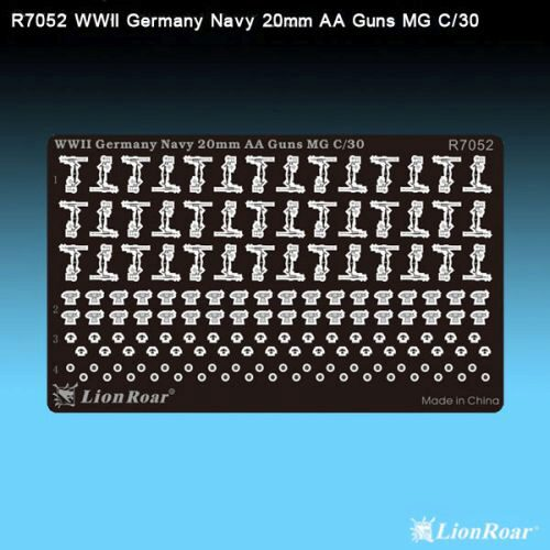 Lion Roar-GreatwallHobby R7052 WWII German Navy 20mm AA Gun Flak 30