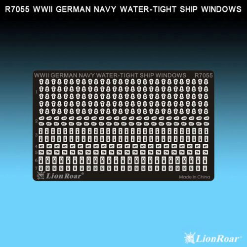 Lion Roar-GreatwallHobby R7055 WWII German Navy Water-tight ship wind.
