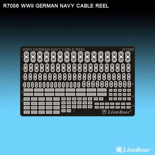 Lion Roar-GreatwallHobby R7056 WWII German Navy cable reels