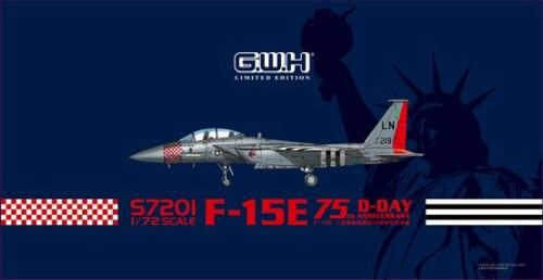 Lion Roar-GreatwallHobby S7201 USAF F-15E D-Day 75th Annversary Limited Items