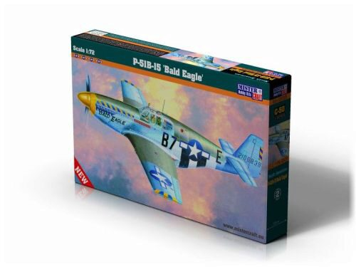 Mistercraft C-54 P-51 B-15 Bald Eagle