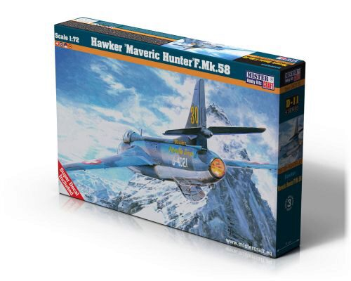 Mistercraft D-11 Hawker Maveric Hunter F.MK.58 CH-Decals