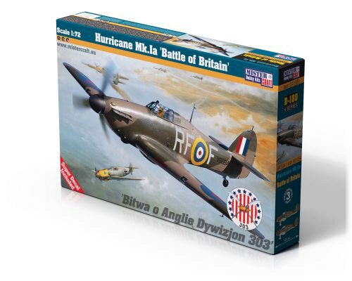 "Mistercraft D-180 Hurricane Mk.Ia ""Battle of Britan"""
