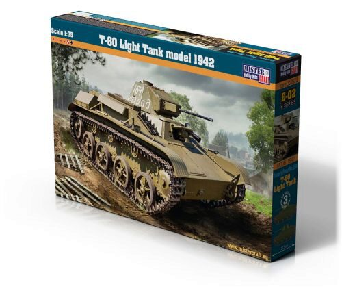 Mistercraft E-02 T-60 Light Tank