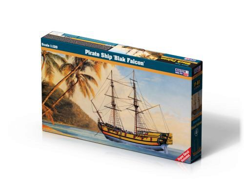 Mistercraft F-61 Pirate Ship Blac Falcon
