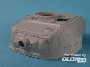 Lion Marc Model Designs LM33001 Centurion MK.5 RAAC Replacement Turret w Canvas Mantlet Cover