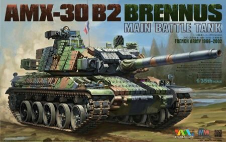 Tiger Model 4604 AMX-30 B2 BRENNUS MAIN BATTLE TANK