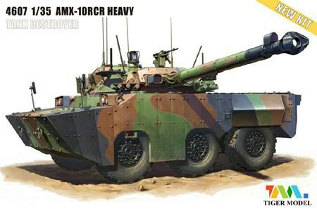 Tiger Model 4607 AMX-1ORCR SEPAR HEAVY TANK DESTROYER