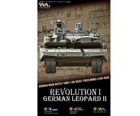 Tiger Model 4629 German Main Battle Tank Revolution I Leopard II
