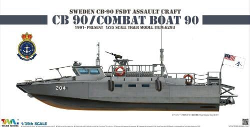 Tiger Model 6293 Sweden CB-90 FDST Assault Craft CB 90/ Combat Boat 90
