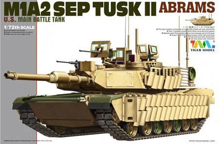 Tiger Model 9601 M1A2 SEP TUSK II ABRAM