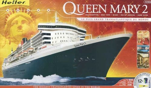 Heller 52902 Queen Mary 2 Kit