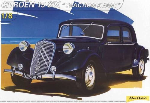 Heller 80799 Citroën 15 SIX 'Traction Avant'