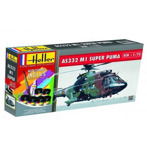 Heller 56367 SUPER PUMA AS332 M1 (78 pieces)