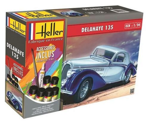 Heller 56707 DELAHAYE 135 (160 pieces)